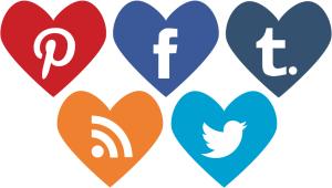 heart-shaped-social-media-icons