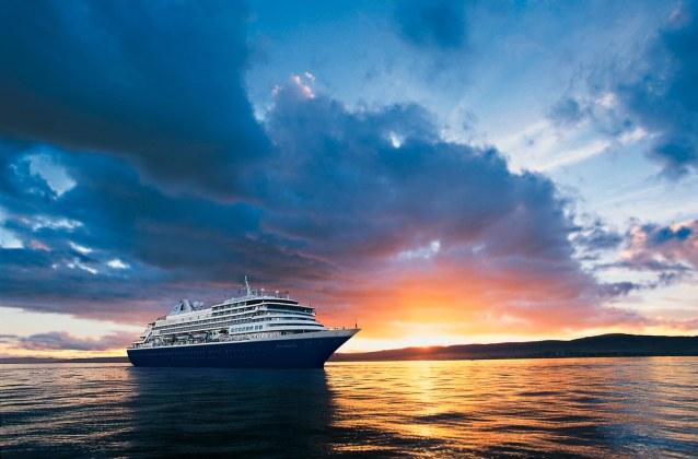 wedding cruises ship sunset