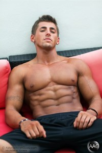 Picture About Male Fitness Model Tyler Anthony from AAG
