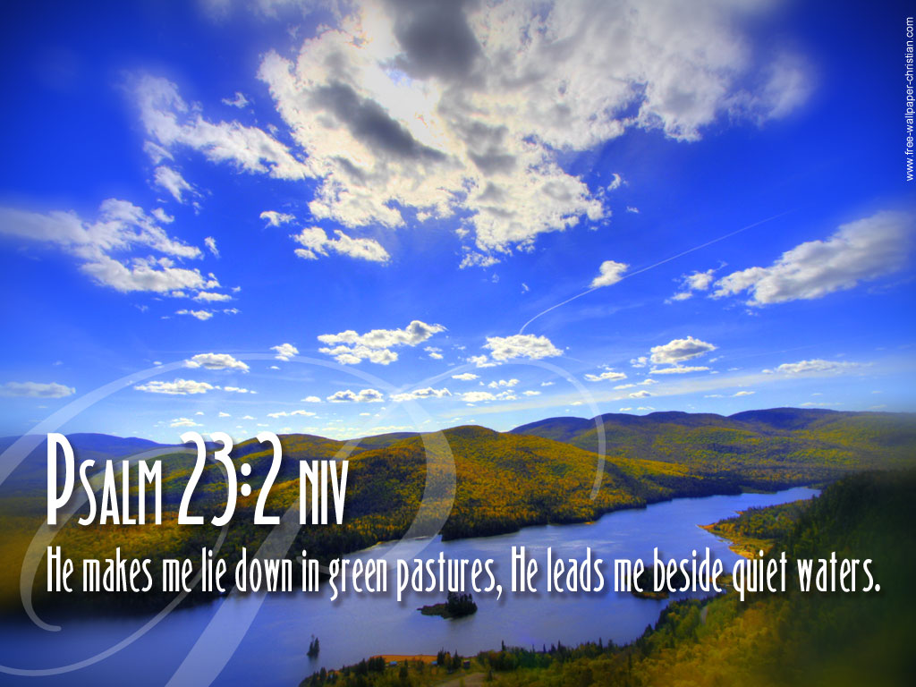 Download Desktop Bible Verse Wallpaper Psalm 23 2