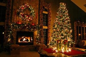 big-house-christmas-holiday-wreath-lights-tree-favim-com-114614