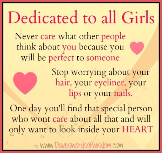 dedicated to the girls