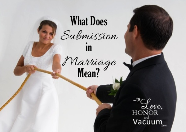 Submission-in-Marriage