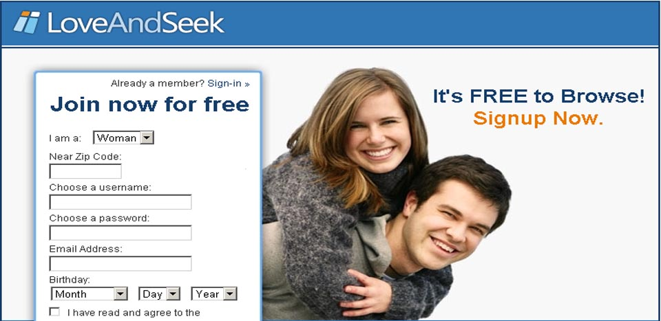 Love and seek dating