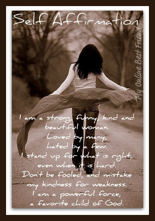 Self affirmation beautiful power woman girl lady walking away 12-17-2011 1-00-01 PM