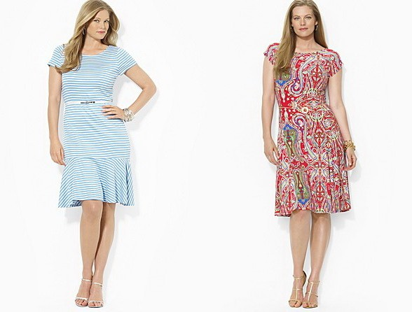 spring-summer-2015-2016-fashion-skirts-and-dresses-plus-size-by-lauren-ralph-lauren-2