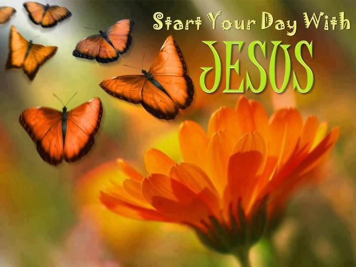 start your day with jesus