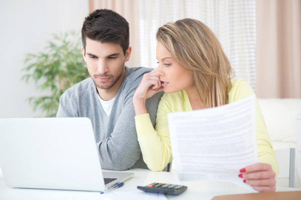 young-couple-going-over-finances