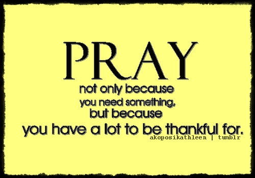 pray-because-thankful