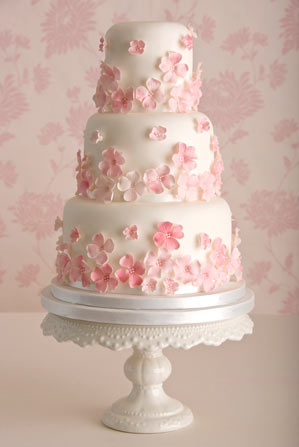 pretty-pink-wedding-cake