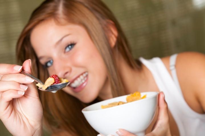 EatingBreakfast