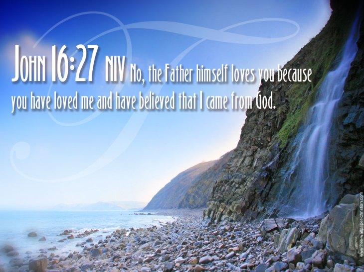 Christian-Wallpapers-Free-John-16-27
