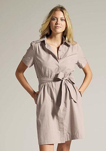 TIE-WAIST-SHIRT-DRESS