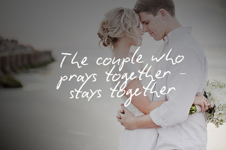 Prays That Together Couple Stays Together The The modest stakes