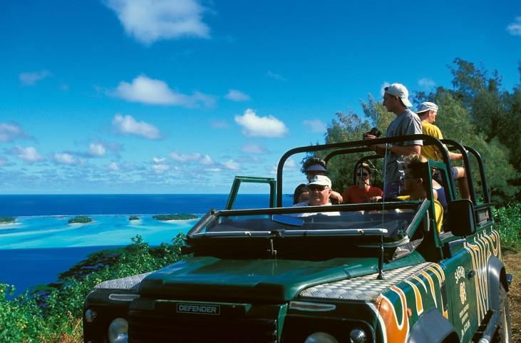 Excursion en 4x4 sur les hauteurs de Bora Bora