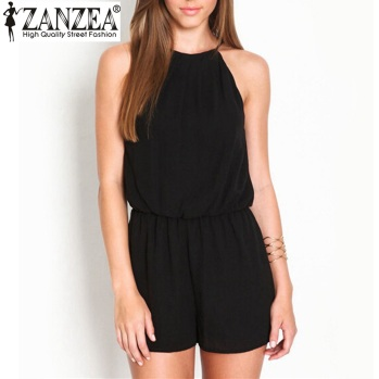 Zanzea-Summer-Style-2016-Rompers-Womens-Jumpsuit-Sexy-Sleeveless-Halter-Keyhole-Back-Short-Jumpsuit-Chiffon-Plus