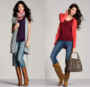 How-to-wear-jeans-with-boots-this-winter-2014-7