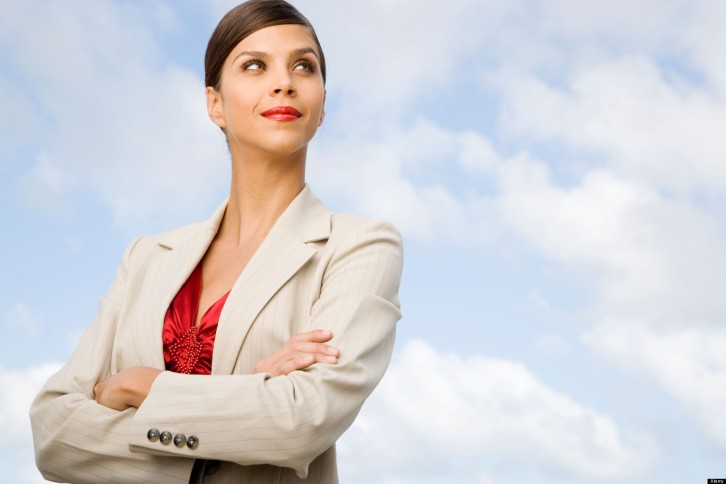 A7GKTG Portrait of a businesswoman