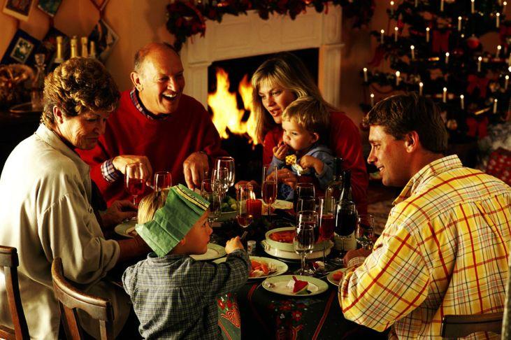 family-eating-christmas-dinner