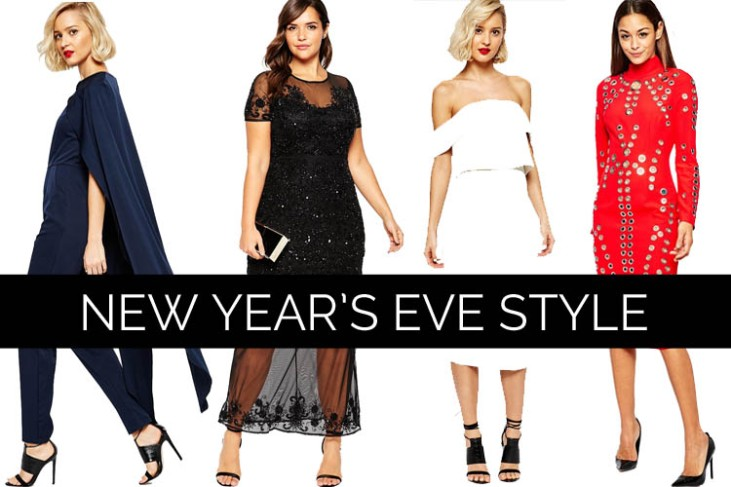 What to Wear to New Year's Eve 2015/2016 Parties- Last Minute NYE Party Dresses Jumpsuits - OSoChic.com