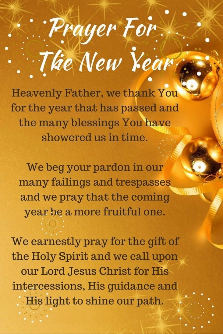 New Year, New Blessings, Prayer for the New Year | Smart Christian ...
