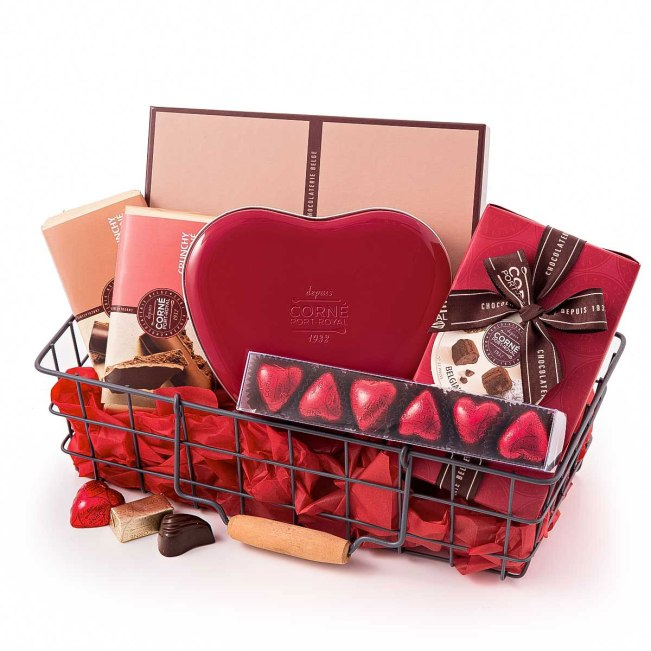 Valentines Day Gift Baskets are a great gift idea for him or her. Buying  one as is fine. Or you can be creative and put whatever you want in it to  tailor ...